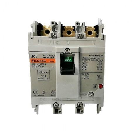 เบรคเกอร์ไฟฟ้า 3P15A BW32AAG FUJI