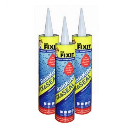 เรนโค้ท ฟิกซ์แอนด์ซีล 310มม. สีดำ 24ชิ้น Dr.Fixit