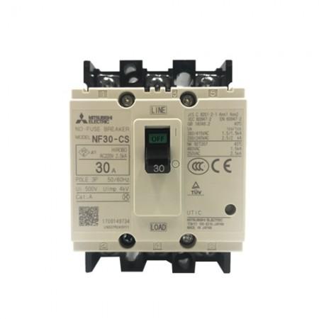 เบรคเกอร์ไฟฟ้า 3P30A NF30CS  MITSUBISHI