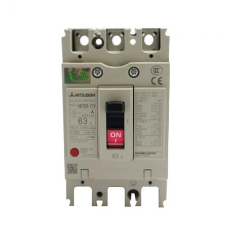เบรคเกอร์ไฟฟ้า 3P63A NF63CV MITSUBISHI