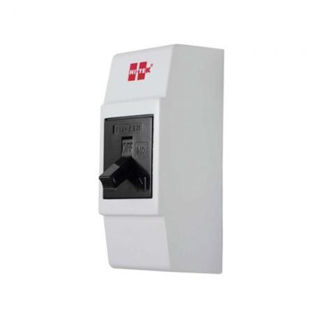 เบรคเกอร์ไฟฟ้า+กล่อง 2P10A HI-TEKดำ