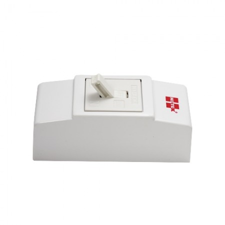 เบรคเกอร์ไฟฟ้า+กล่อง 2P20A HI-TEKขาว