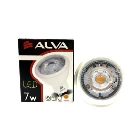 หลอดฮาโลเจน ขั้ว GU10 LED 7W ALVA
