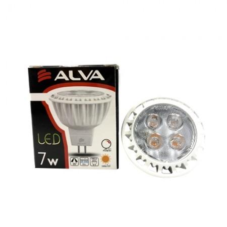 หลอดฮาโลเจน ขั้วเข็ม LED 7W MR16 ALVA