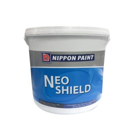 สีทาฝ้า M777 นีโอชิลด์ NIPPON สีขาว 1GL