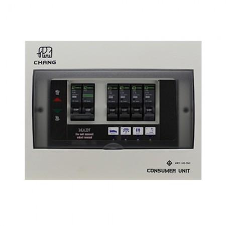 ตู้คอนฯ+เมน มีไฟ4ช่อง 32A U-4 CHANG