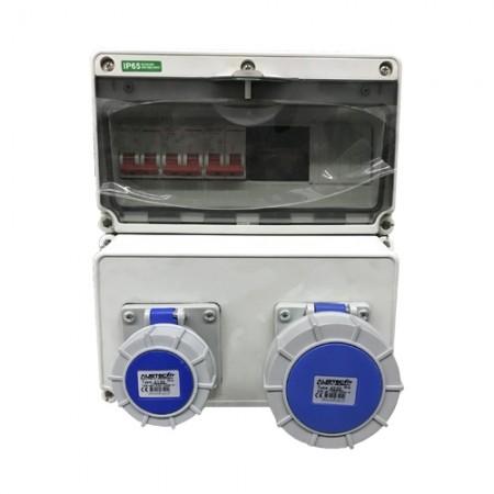 ตู้จ่ายไฟ+เมนต์ (16,32/40,16,32) AUSTEC