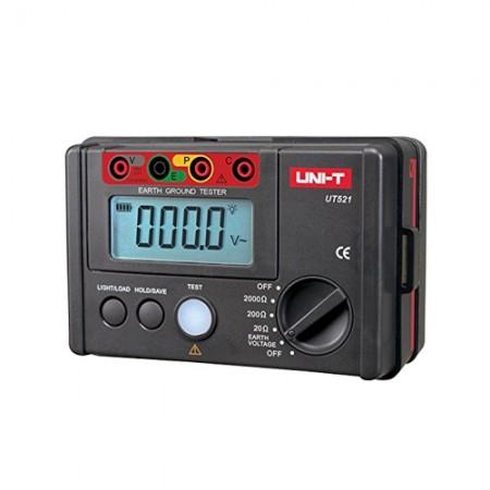 เครื่องวัดกราวน์ ดิจิตอล UT-521 UNI-T