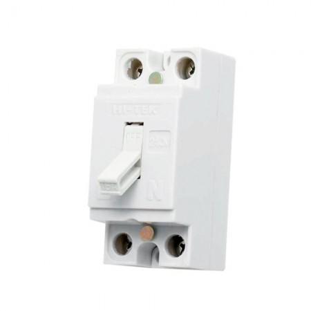 เบรคเกอร์ไฟฟ้า 2P10A HI-TEK สีขาว