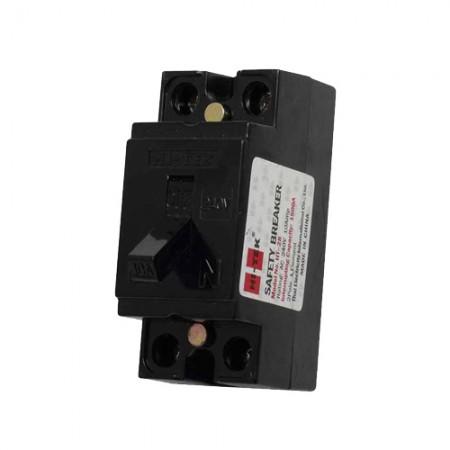 เบรคเกอร์ไฟฟ้า 2P15A HI-TEK สีดำ