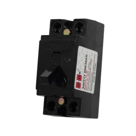 เบรคเกอร์ไฟฟ้า 2P20A HI-TEK สีดำ