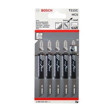 ใบเลื่อยจิ๊กซอ T111C BOSCH (5ใบ)