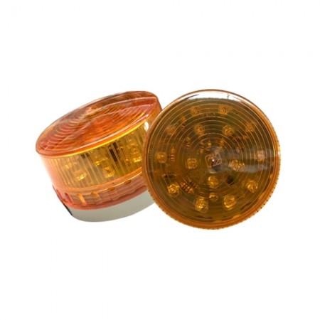 ไฟสัญญาณทรงเตี้ยLTE-3071 12Vเหลือง ARGO