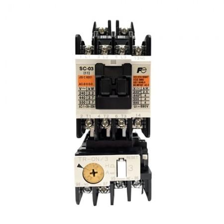 แมกเนติกSC-03+TR-0N/3 0.8-1.2A 220V FUJI