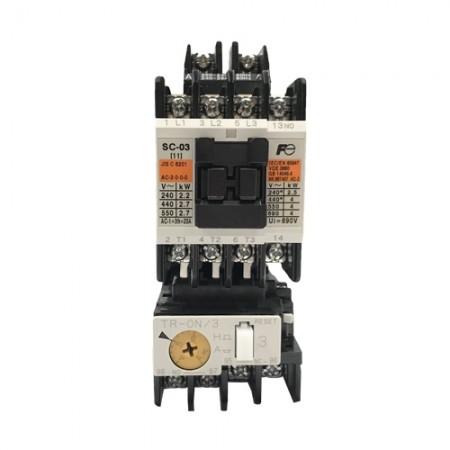 แมกเนติกส์ SC-03+TR-0N/3 4A-6A 220V FUJI