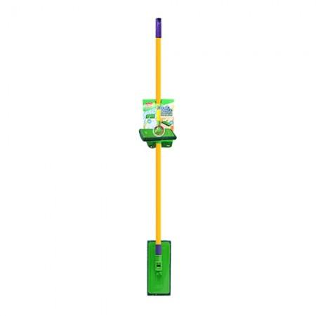 ไม้ขัดพื้นและผนัง+ใยขัดสีเขียว 3M 22517