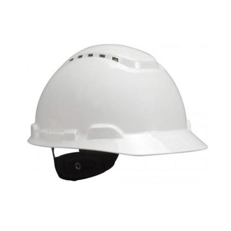 หมวกนิรภัย ระบายอากาศ ขาว H-701V 3M