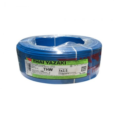 สายไฟเดี่ยว IEC 01 THW 1*2.5 YAZAKI  นง