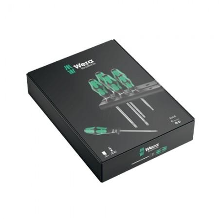 ชุดไขควง 6+1 Laser Tip 05105650001 WERA