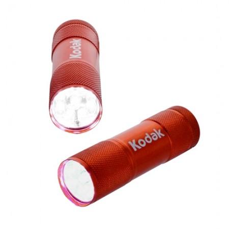 ไฟฉาย LED กันน้ำ RED+ถ่าน รุ่น 30412460 KODAK