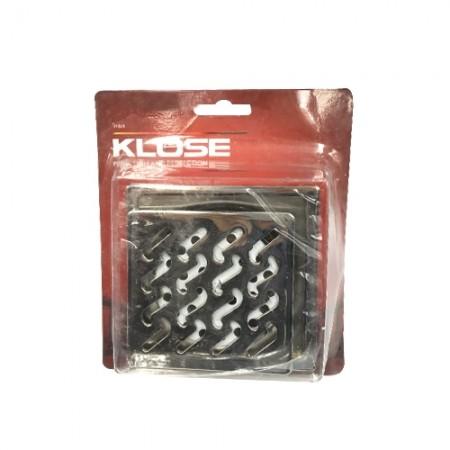 ตระแกรงน้ำทิ้ง สแตนเลส+ลิ้น+ฝาเปิด KLOSE