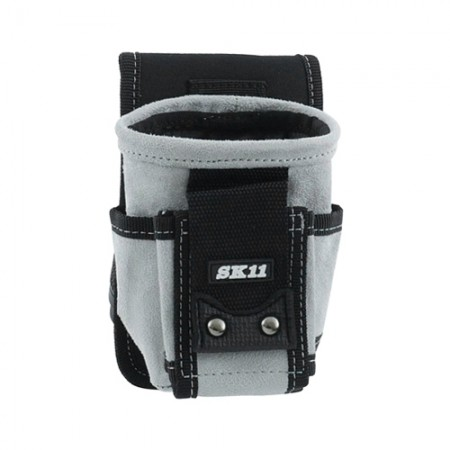 กระเป๋าเครื่องมือหนังปากกลม S SMP1 SK11