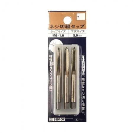 ต๊าปแท่งญี่ปุ่น M6x1.0 SKC 3ตัวชุด SK11