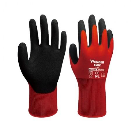 ถุงมือผ้าเคลือบยางไนไตร 500 WDG, M