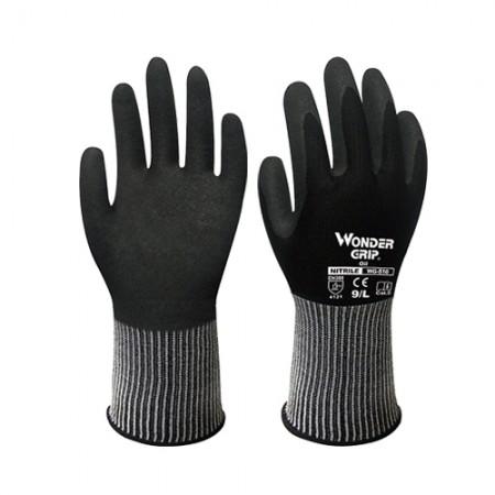 ถุงมือผ้าเคลือบไนไตร กันน้ำมัน 510 WDG, XL