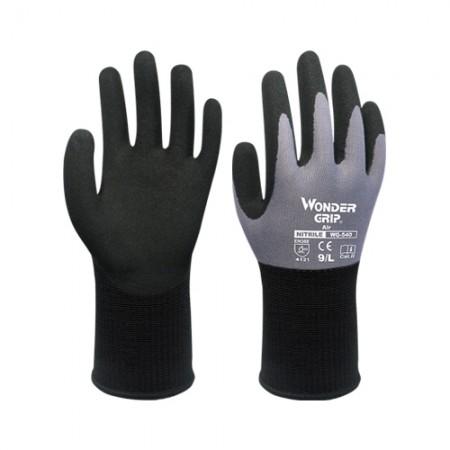 ถุงมือผ้าเคลือบยางไนไตร 540 WDG, XL