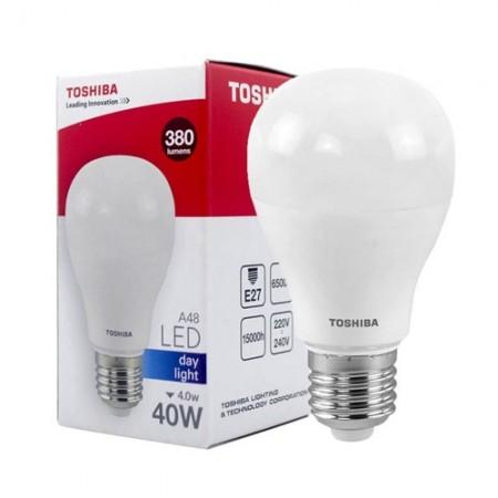 หลอดไฟ LED A48 4W WW E27(G4) TOSHIBA LT