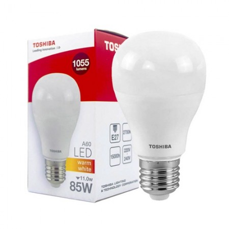 หลอดไฟ LED A60 11W WW E27(G4) TOSHIBA LT