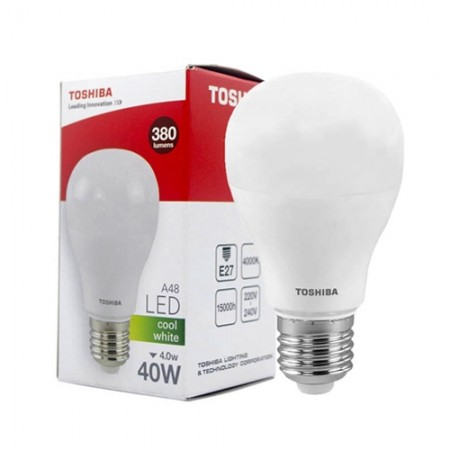 หลอดไฟ LED A48 4W CW E27(G4) TOSHIBA LT