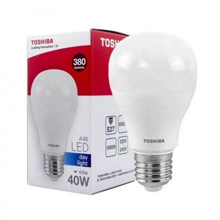 หลอดไฟ LED A48 4W DL E27 (G4) TOSHIBA LT