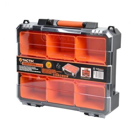กล่องทรงกระเป๋าฝาใส 9pc 320060 TACTIX