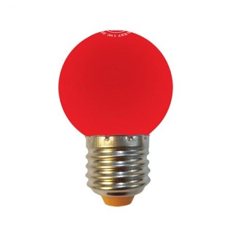 หลอด LED ปิงปอง 1W แดง MELLOW