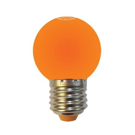 หลอด LED ปิงปอง 1W ส้ม MELLOW