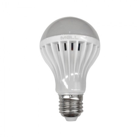 หลอดไฟ LED ฉุกเฉิน แบตในตัว 7W DL MELLOW