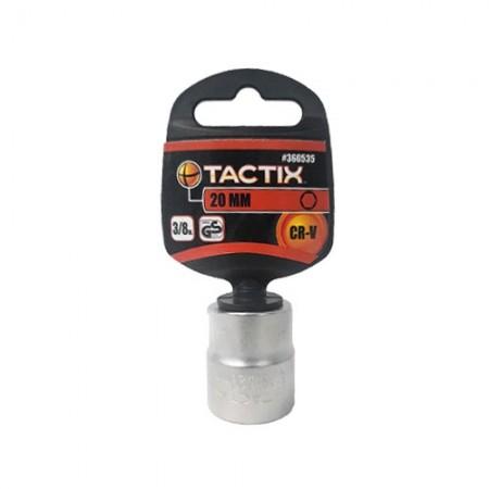 """ลูกบล็อก 3/8"""" 6PT 20mm 360535 TACTIX"""