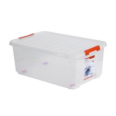 กล่องเก็บของล็อคใส 35L 320280 TACTIX