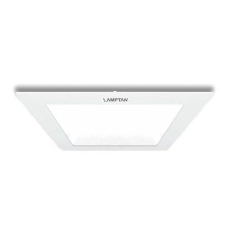 โคมดาวน์ไลท์ UltraSlim - 9W (เหลี่ยม) Warm White LAMPTAN