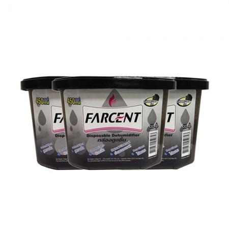 กล่องดูดความชื้น 450มล FARCENTถ่าน (PK3)