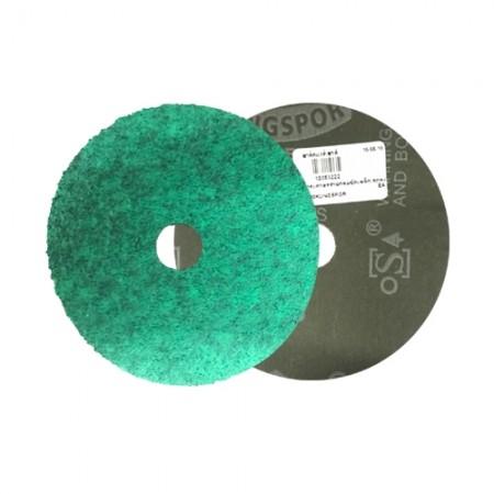 """กระดาษทรายกลมขัดเหล็ก/สแตนเลส 4"""" #120 KLINGSPOR"""