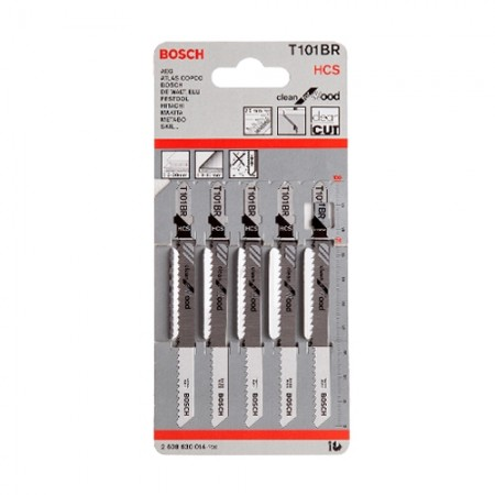 ใบเลื่อยจิ๊กซอ T101BR BOSCH (5ใบ)