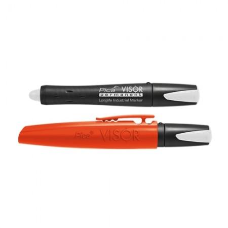 ปากกา VISOR ถาวร ขาว 990/52 German PICA