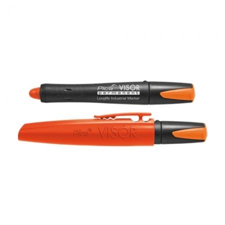 ปากกา VISOR ถาวร ส้มนีออน 990/054 PICA
