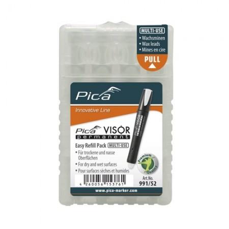 ไส้ปากกา VISOR ถาวร ขาว 991/52 German PICA
