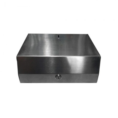 กล่องทิชชู่แบบแผ่น สแตนเลส 0225 KLOSE