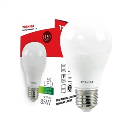 หลอดไฟ LED GEN5 A60 11W COOL WHITE E27 TOSHIBA LT