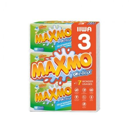 กระดาษชำระแบบแผ่น MAXMO 90แผ่น